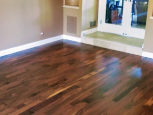 Black American Walnut-Natural with no stain